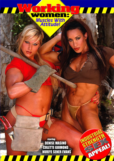 Working Women: Muscles With Attitude DVD -  [+Peso($53.00 c/100gr)] (IMP) {MASTER}